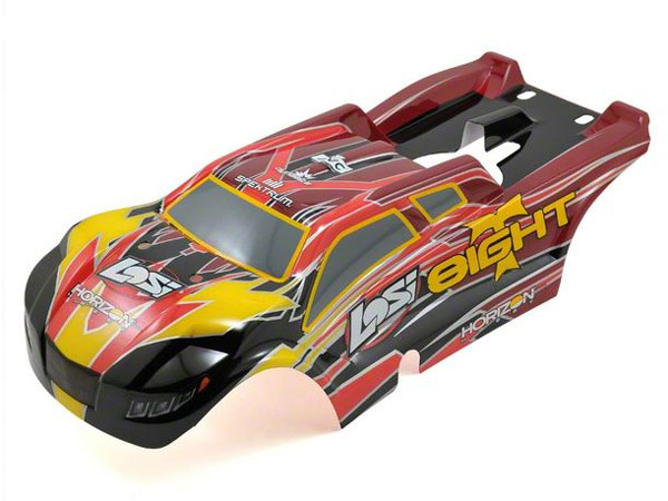 Losi Painted Body for Petrol: 8IGHT-T RTR LOS240004