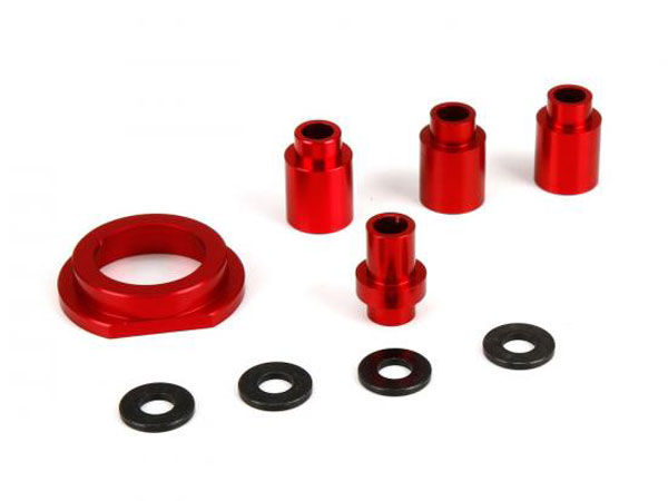 Losi 1/5 DBXL 4WD Aluminium Engine Mount Spacer and Clutch Mount LOS256002