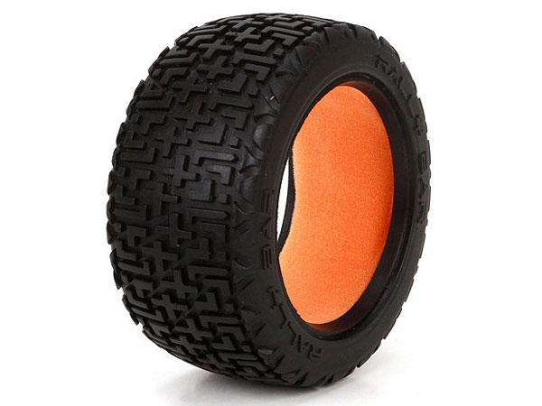 Image Of Losi Ten Rally-X Tyres with Foam inserts