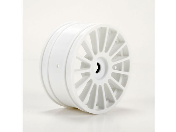 Losi Wheel White (2): 6IX LOS45011