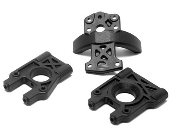Losi 8ight 2.0 Centre Diff Mount and Brace Set LOSA4420