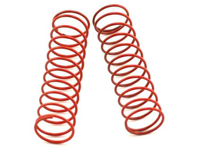Losi 2.5inch Spring 2.5 Rate (Red) (2) LOSA5152