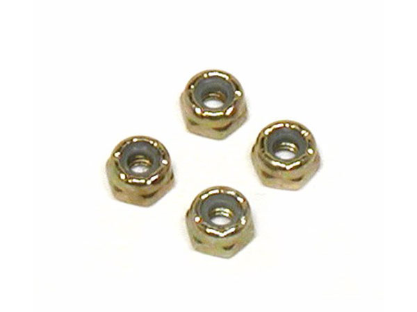Image Of Losi 5.40 Steel Locking Nuts (4)