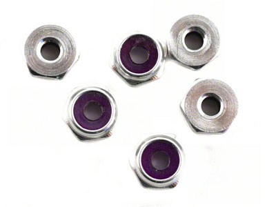 Image Of Losi 4-40 Low Profile Alum Locknut