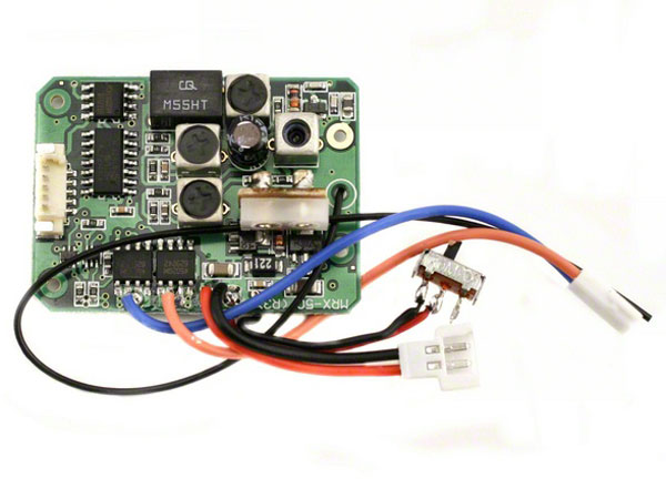Image Of Losi Receiver and ESC Unit (Micro-T)