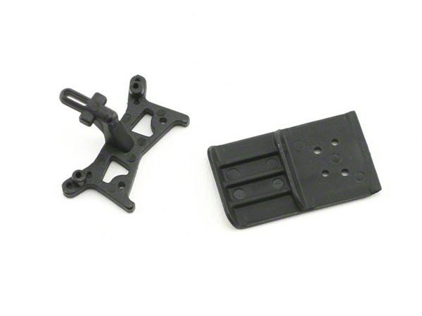 Losi Micro Desert Truck Shock Tower, Bumper And Skid Plate LOSB1508