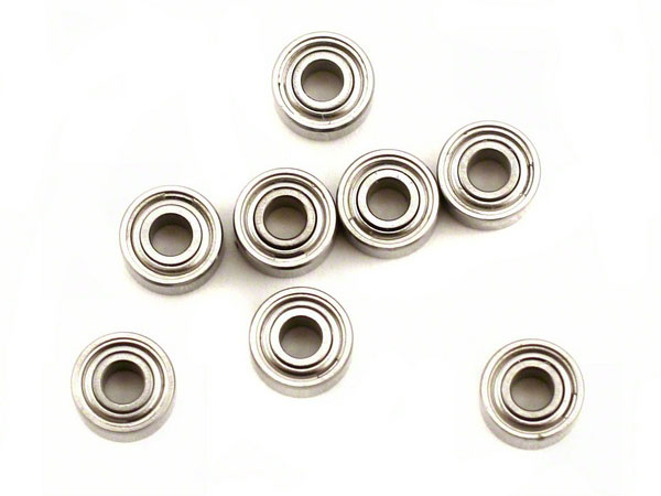 Image Of Losi Micro-T Wheel Hub Ballrace Set