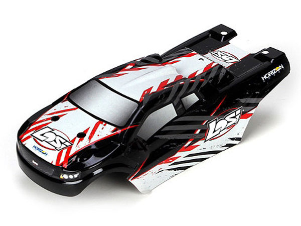 Losi Micro Truggy Red Body Set LOSB1778