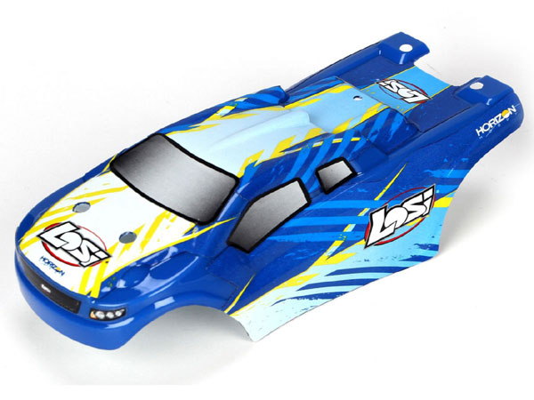 Losi Micro Truggy Blue Body Set LOSB1779