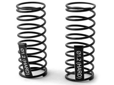 Losi Mini 8ight Rear Shock Spring Set Hard (2) LOSB1945