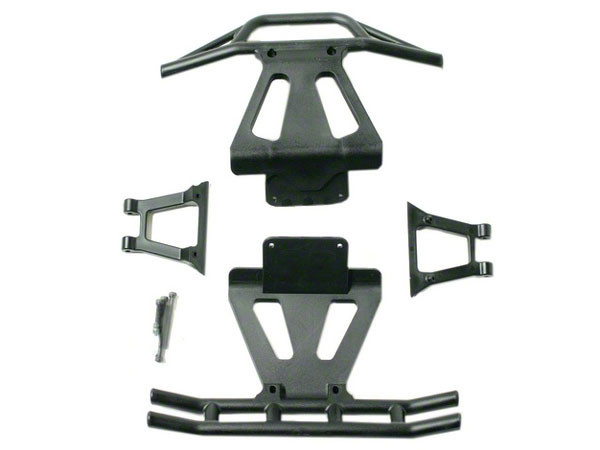 Losi Front and Rear Bumper and Braces LOSB2401
