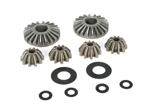 Losi 5ive-T Internal Differential Gears and Shims (6) LOSB3202