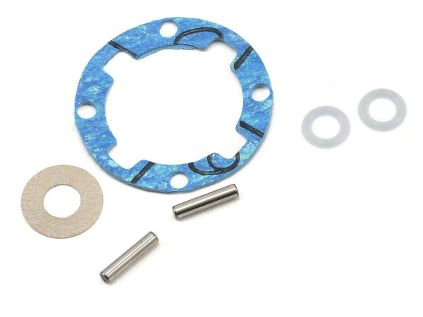 Losi Ten-T Diff Seal/Shims/Pins & Gasket LOSB3568