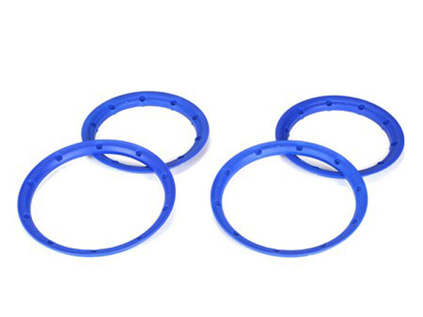 Losi 5ive-T Blue Beadlock Set Inner & Outer (2) LOSB7029