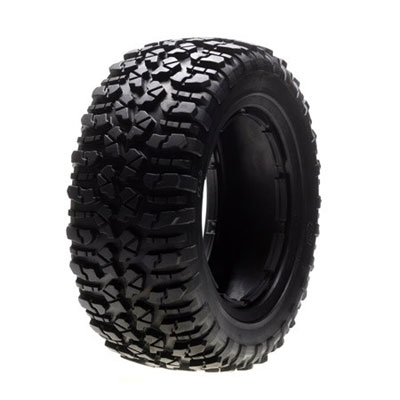 Losi 5ive-T Left and Right Firm Nomad Tyre Set (1ea) LOSB7240