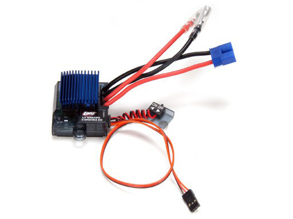 Image Of Losi MSC12L 4 Model Forward/Reverse ESC, LiPo Cutoff