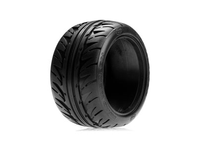 Losi 320 Series Road Weapon Tires, Fr/R Blue (2) LOSA7684B