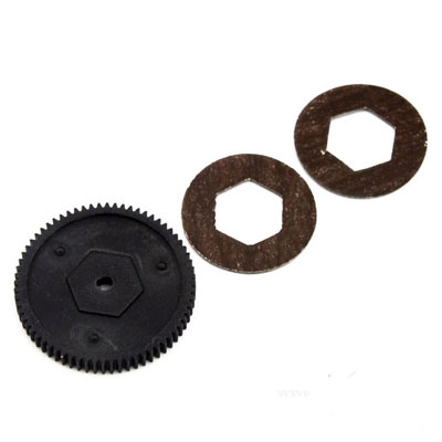LRP Main Gear 68T and Slipperpads  - S10 LRP120934