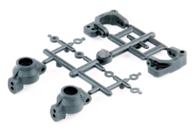 LRP Front C-Hub Carriers + Rear Hub Carriers - S10 Twister LRP124009