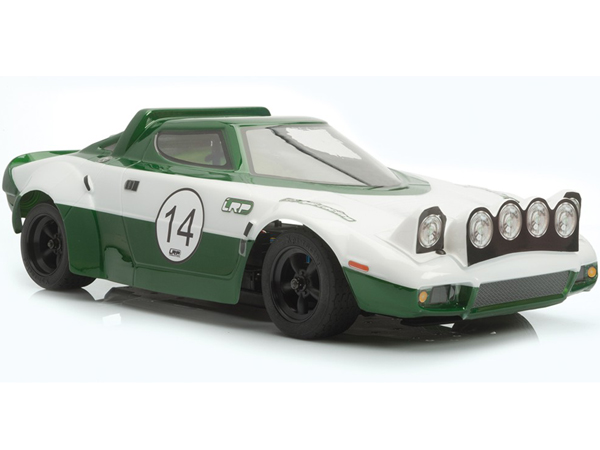 LRP Lancia Stratos Body Shell w/Decals and Window Masks (1/10, Crystal Clear) LRPTRL001