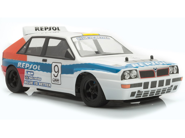 LRP Lancia Delta Integrale Evo2 Body Shell w/Decals and Masks (1/10, Clear) 	LRPTRL004