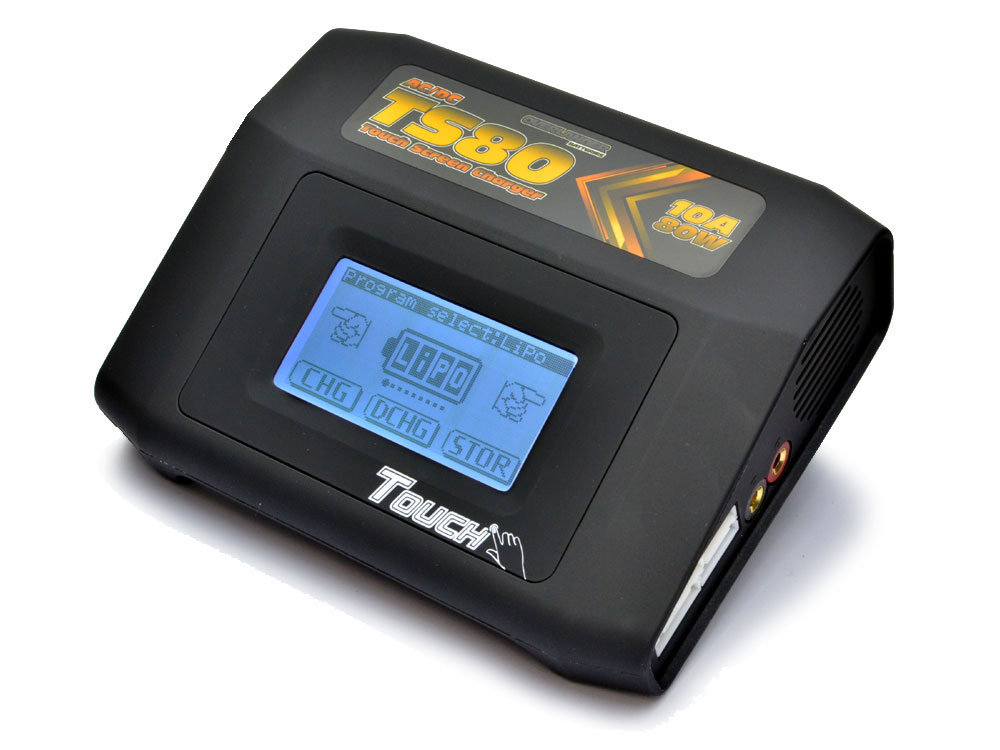 Overlander TS80 80W Touch Screen AC/DC 10amp Charger 0003027