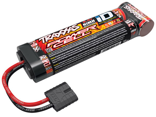 Image Of Traxxas Power Cell 3000 Stick Pack iD Connector 8.4V