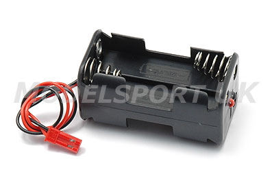Image Of Modelsport UK 4 Cell Battery Box - BEC