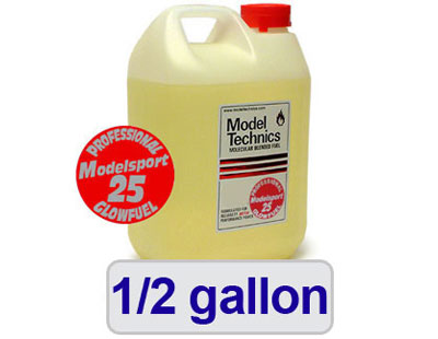 Image Of Modelsport UK Professional 25 Nitro Fuel - 1/2 gallon