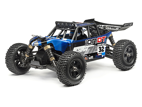 Maverick Clear Desert Truck Body With Decals (ion Dt) MV28075