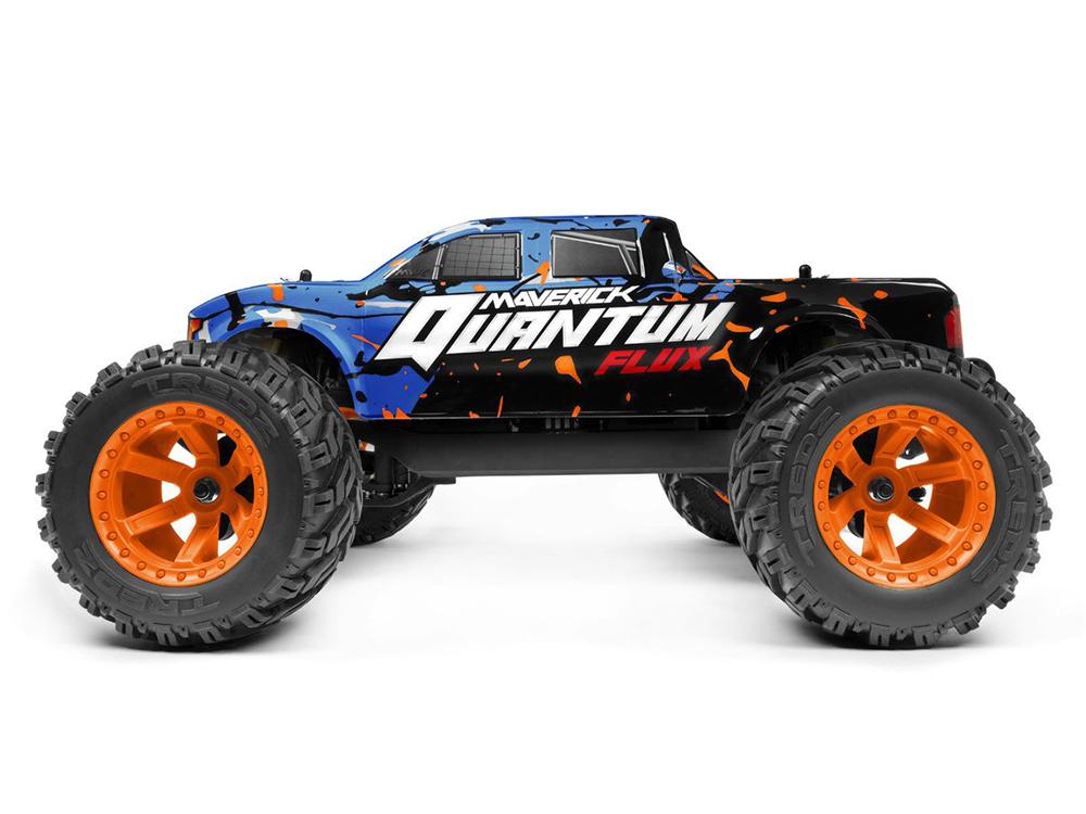 Maverick Quantum MT Flux 1/10 4WD Monster Truck - Blue MV150200