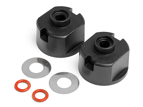 Maverick Differential Case, Seals With Washers (2pcs) (all Strada And Evo) MV22025