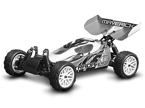 Maverick Buggy Body Clear (strada Evo Xb) MV22674