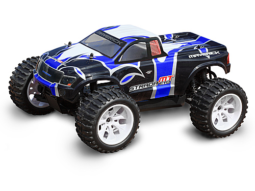 Maverick Monster Truck Painted Body Blue (strada Evo Mt) MV22678