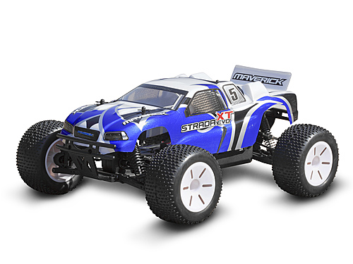 Maverick Truggy Painted Body Blue (strada Evo Xt) MV22681