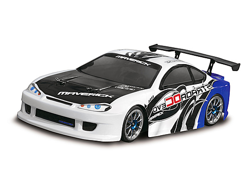Maverick Drift Car Painted Body Blue (strada Evo Dc) MV22684