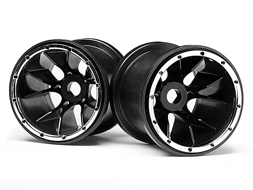 Image Of Maverick Black Wheels 2 Pcs (blackout Mt)