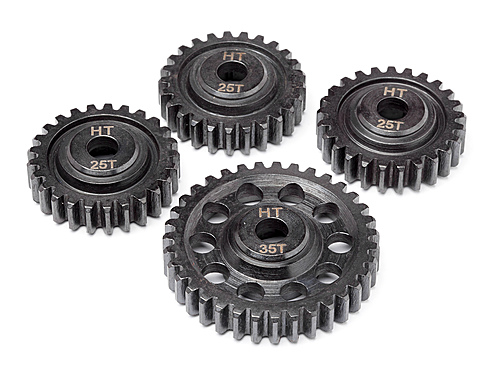 Maverick Heavy Duty Metal Powder Gear Transmission Set (blackout Mt) MV24156