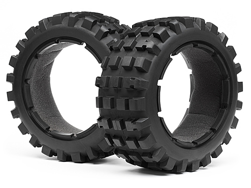 Maverick Blackout Xb Tyre Set (front) Pr MV24172
