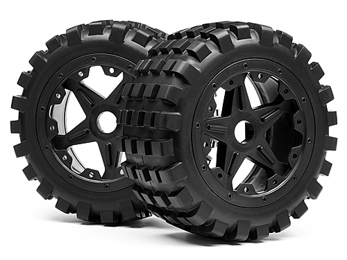 Maverick Blackout Xb Mounted Wheel And Tyre Set (rear) Pr MV24173