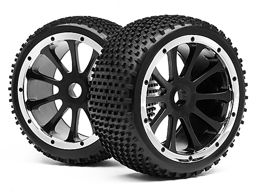Image Of Maverick Blackout St Mounted Wheel And Tyre Pr