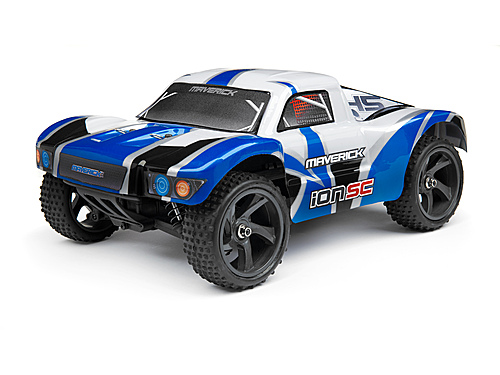 Maverick Short Course Painted Body Blue (ion Sc) MV28053