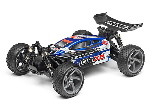 Maverick Clear Buggy Body With Decals (ion Xb) MV28072