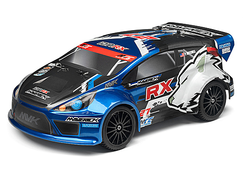 Image Of Maverick Clear Rally Body With Decals (ion Rx)