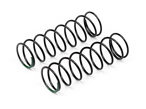 Maverick Shock Spring Front Soft 1.3x60x8.5 (green/2pcs) MV29136