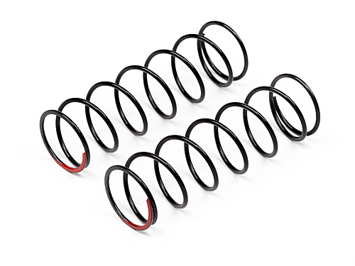 Maverick Shock Spring Front Firm 1.3x60x7.5 (red/2pcs) MV29138