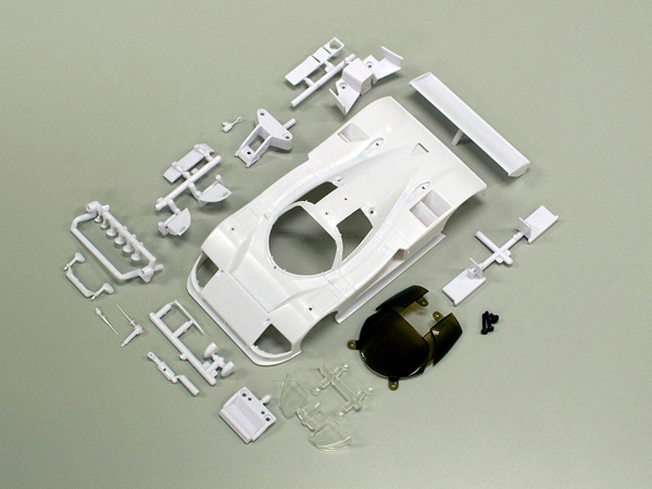 Kyosho Mazda 787B White Body Set Unpainted MZN152