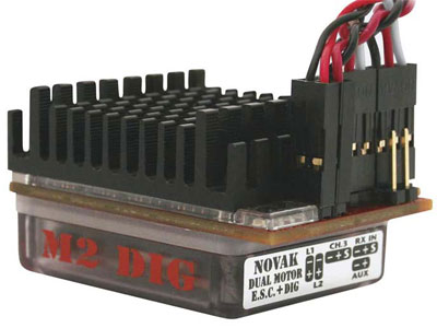 Image Of Novak M2 Dig Dual Brushed ESC