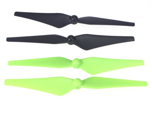 Nine Eagles Galaxy Visitor 6 Green and Black Blade Set NE401038