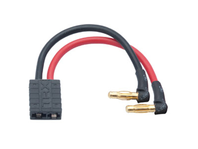 Image Of Nosram Lipo Hardcase Adapter - Traxxas TRX Plug to 4mm Male Plug